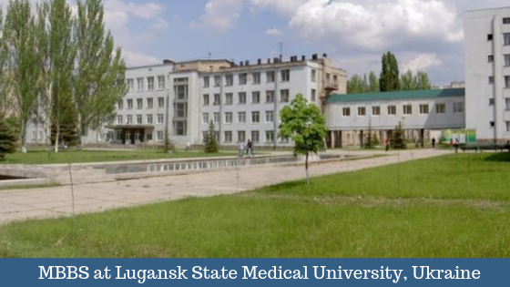 MBBS at Luganks State Medical University
