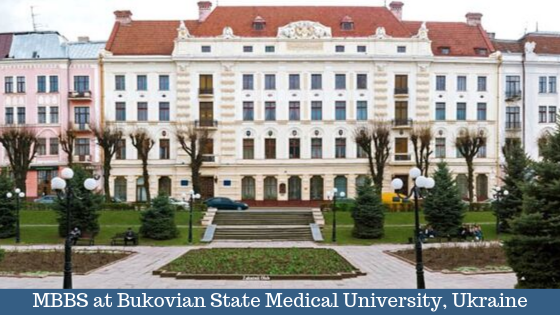 MBBS in Bukovian State Medical University, Ukraine