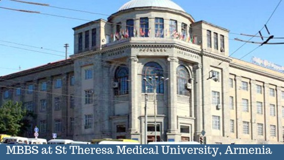 Study MBBS In St Theresa Medical University, Armenia