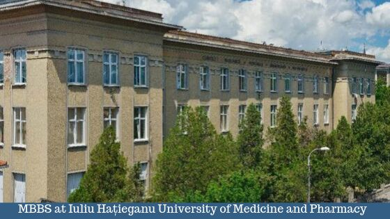 MBBS at Iuliu Hațieganu University of Medicine and Pharmacy