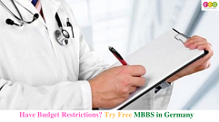 Have budget restrictions? Why not try for MBBS in Germany for free?
